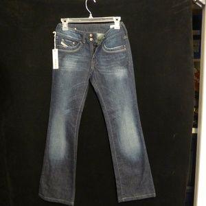 NWT Diesel Industry Women TALL Jeans Size 25 x 30
